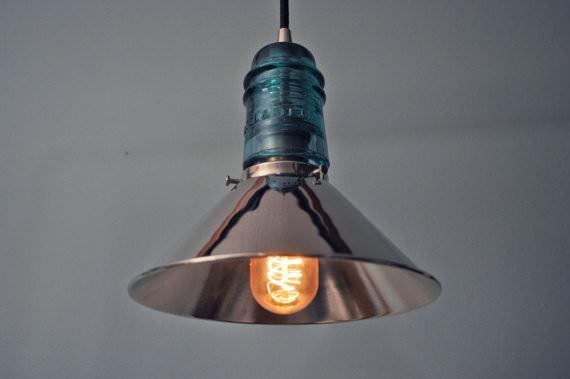 30+ Creative Ideas Using Vintage Glass Insulators 32 • Do-It-Yourself Ideas