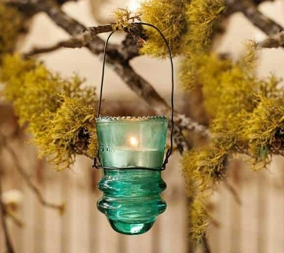 30+ Creative Ideas Using Vintage Glass Insulators 3 • Do-It-Yourself Ideas