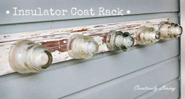 30+ Creative Ideas Using Vintage Glass Insulators 57 • Do-It-Yourself Ideas