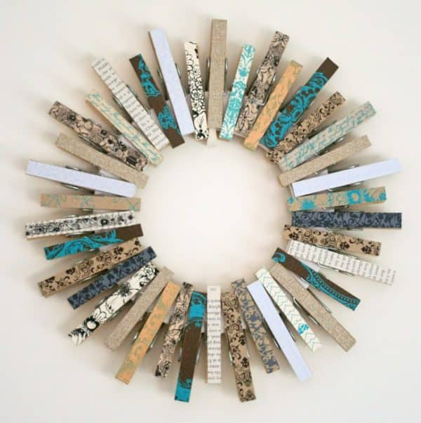 50+ Creative Ways of Reusing Clothespins 64 • Accessories