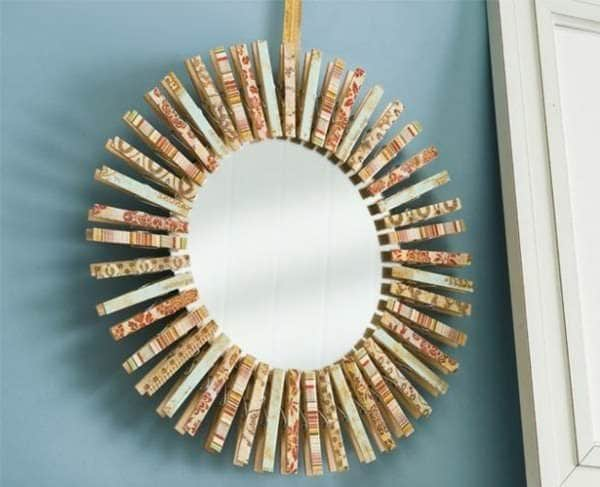 50+ Creative Ways of Reusing Clothespins 47 • Accessories