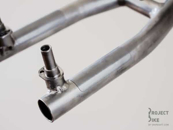 Bike frame bicycle wall hanger