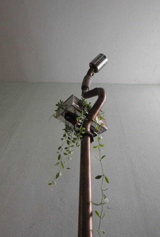 Standing Lamp Planter … From Volkswagen Car Scraps 6 • Lamps & Lights