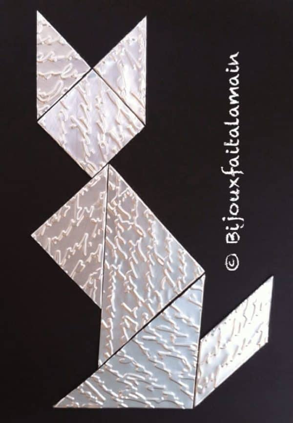 How To Make A Puzzle (Tangram) With A Soda Can 1 • Do-It-Yourself Ideas