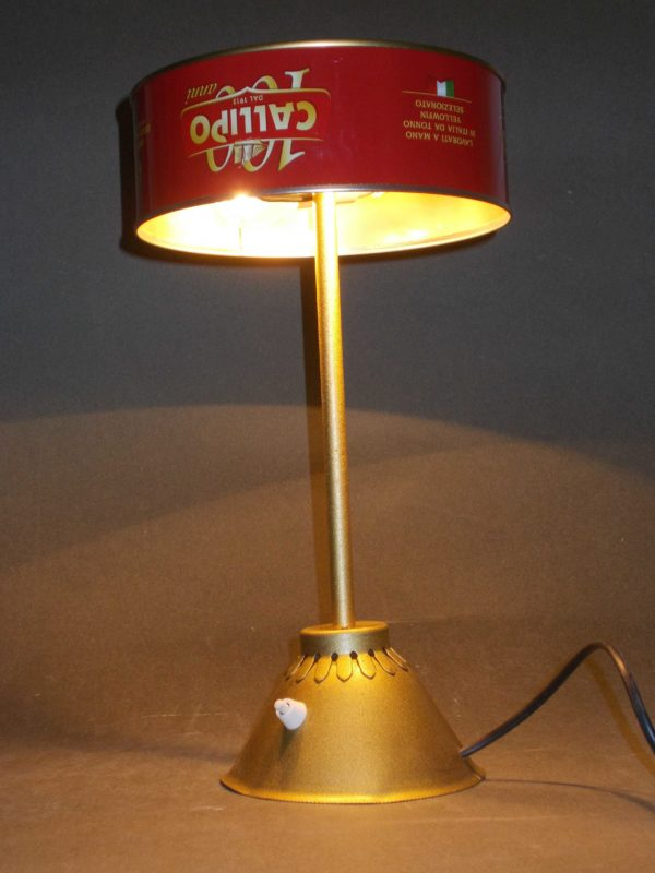 Tonno In Scatola / Upcycled Tuna Can Into Desk Lamp 1 • Lamps & Lights