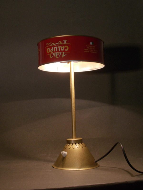 Tonno In Scatola / Upcycled Tuna Can Into Desk Lamp 3 • Lamps & Lights