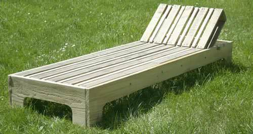 Diy: Garden Lounge Chair (Video + Tutorial) 1 • Do-It-Yourself Ideas