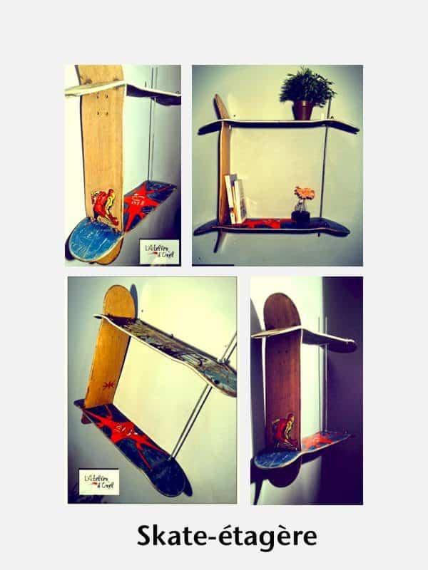 Skate-etagere