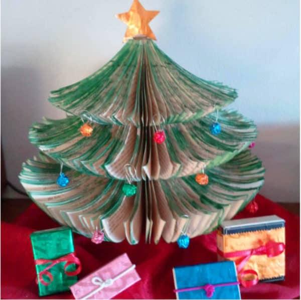 Upcycled-Book-Christmas-Tree