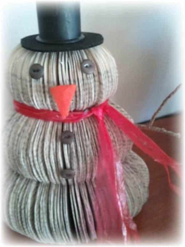 Upcycled-book-snowman-1