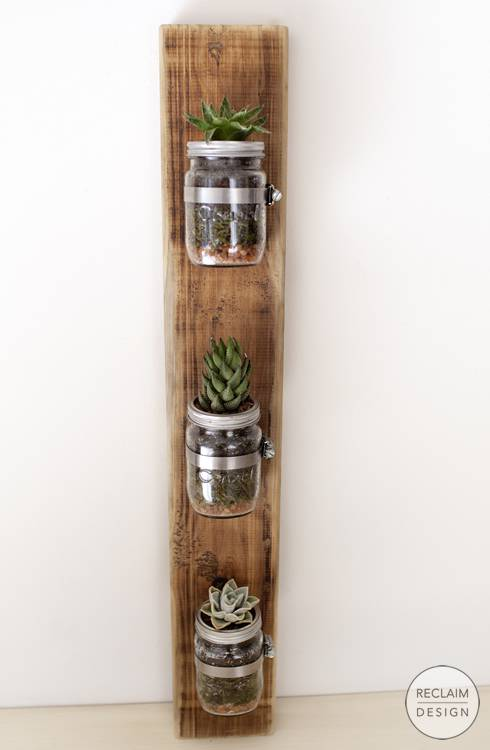 Small Flower Pots Made From Upcycled Pallets 11 • Recycled Pallets