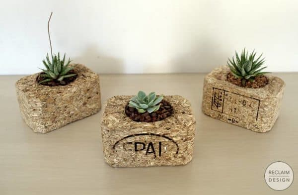 Small Flower Pots Made From Upcycled Pallets 5 • Recycled Pallets