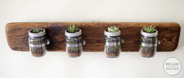 Small Flower Pots Made From Upcycled Pallets 9 • Recycled Pallets