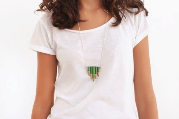 Upcycled Pencils Into Jewelry 11 • Accessories