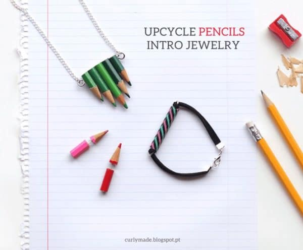 Upcycled Pencils Into Jewelry 1 • Accessories