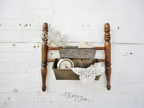 7 decorative uses of an old broken chair 1