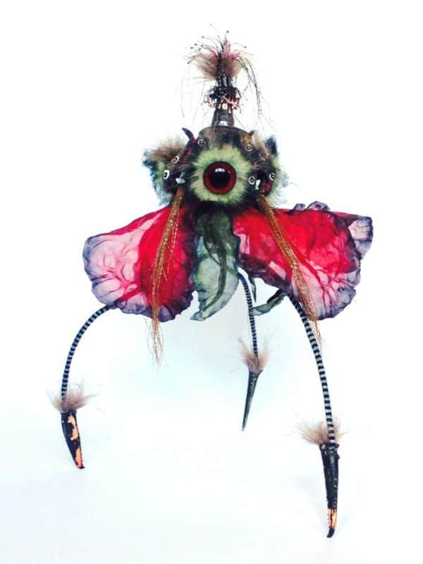 Hybrid Flower Sculpture Recycled Art