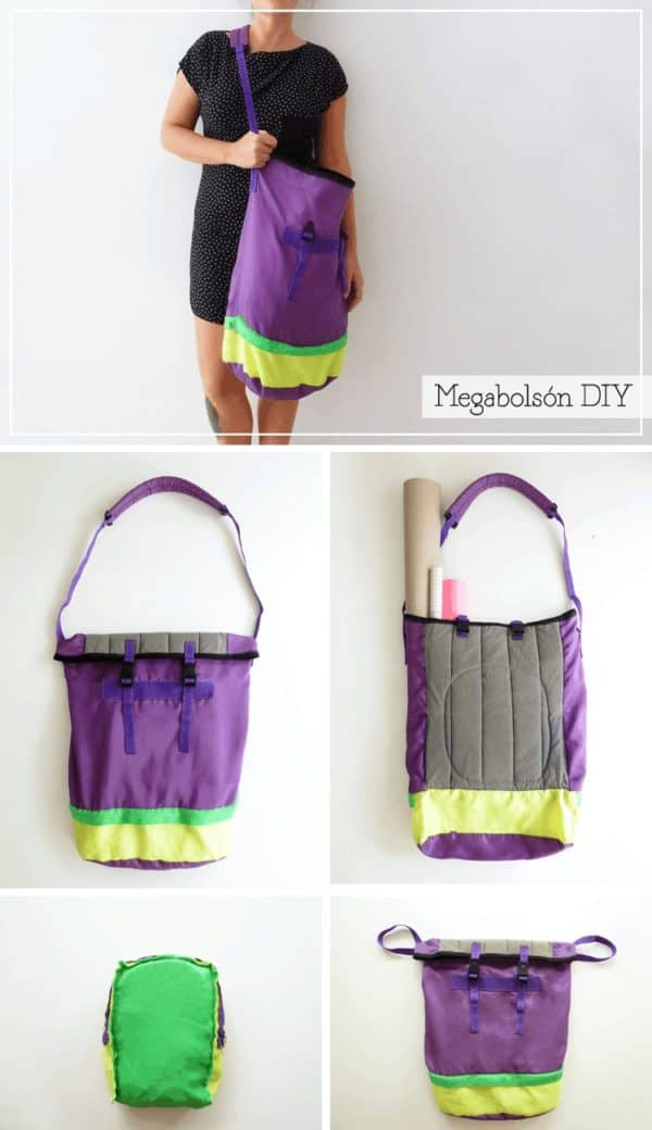 Upcycled Diy Maxi Tote Bag 9 • Do-It-Yourself Ideas