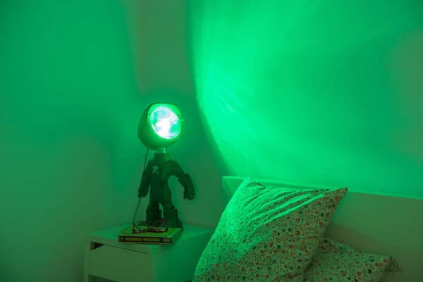 The Lampster: Little Robot Lights From Upcycled Vehicle Lamps 16