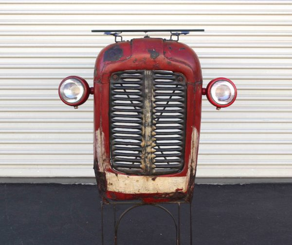 Vintage Massey Ferguson Tractor Upcycled Into Design Bar 5 • Mechanic & Friends