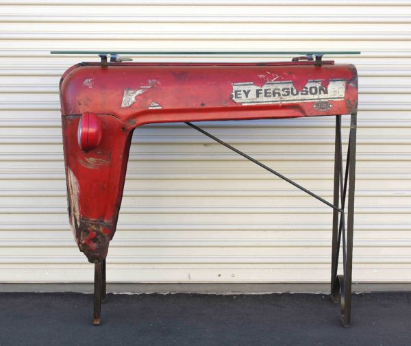 Vintage Massey Ferguson Tractor Upcycled Into Design Bar 3 • Mechanic & Friends