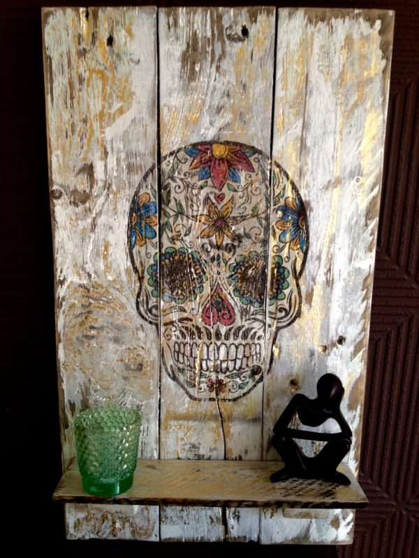 recyclart.org-day-of-the-dead-wall-hanging