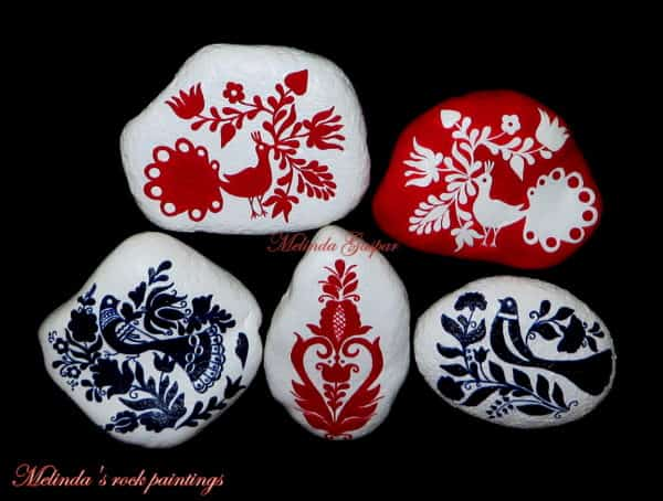 recyclart.org-hungarian-folk-art-motifs-painted-on-stones4