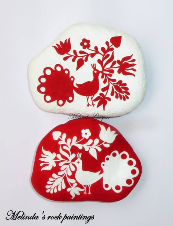 recyclart.org-hungarian-folk-art-motifs-painted-on-stones3