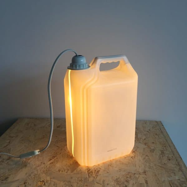 Plastic Bottle Lamps 4 • Recycled Plastic