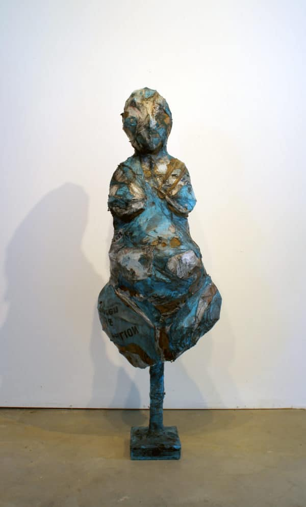 recyclart.org-scluptures-created-from-melted-plastic-bags-by-ryan-lytle1