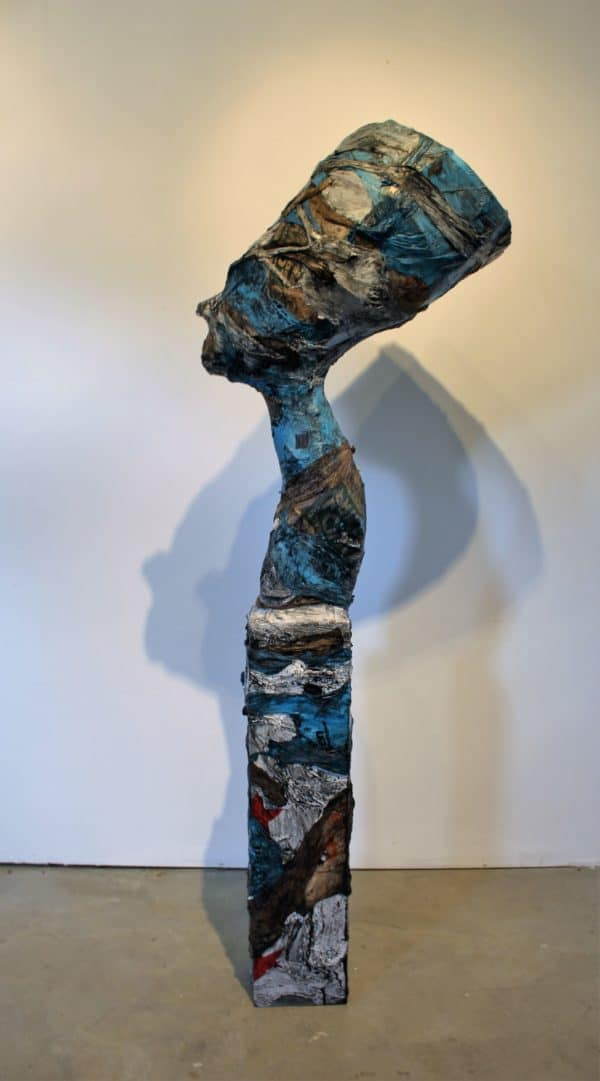 recyclart.org-scluptures-created-from-melted-plastic-bags-by-ryan-lytle