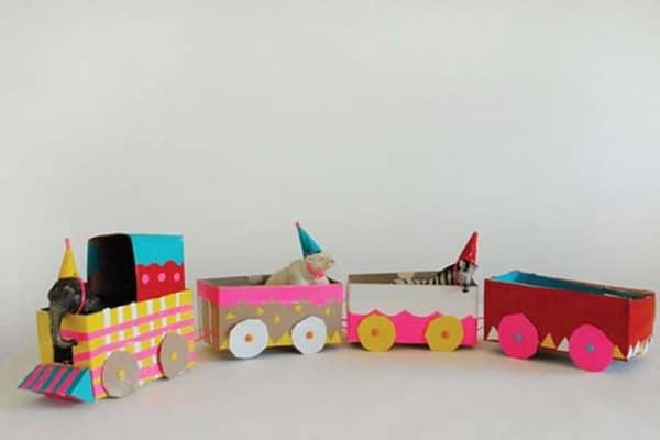 Cardboard-Train-for-Kids