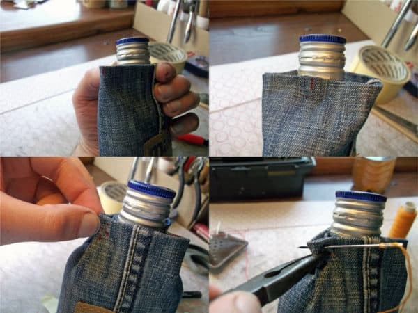 recyclart.org-how-to-make-flask-from-your-favourite-but-old-jeans-and-a-glass-bottle5
