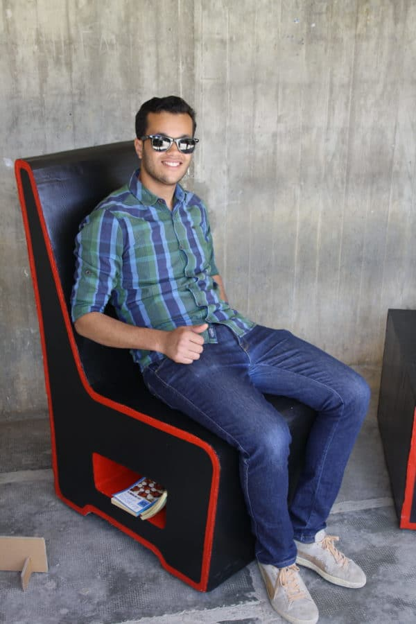 Mobilier En Carton / Cardboard Furniture 2 • Recycled Cardboard