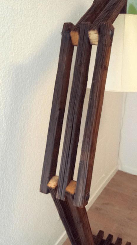 Reclaimed Slats Into Design Lamp 5 • Wood & Organic