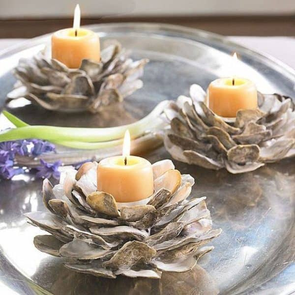 10 Beautiful Ways to Repurpose Oyster Shells 13 • Do-It-Yourself Ideas