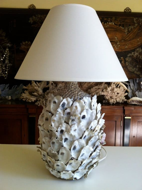 10 Beautiful Ways to Repurpose Oyster Shells 9 • Do-It-Yourself Ideas