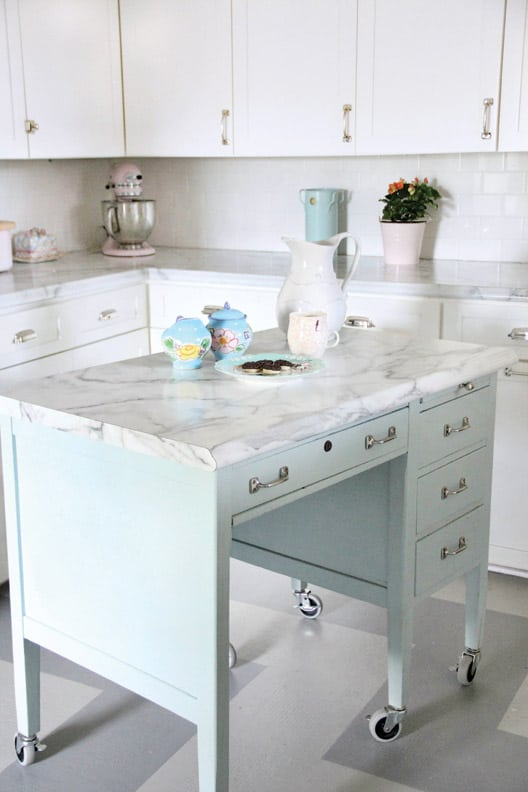 desk-turned-kitchen-island