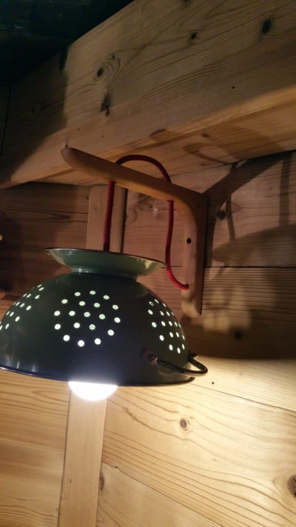 Pasta Lights From Upcycled Skateboards & Colander 2 • Lamps & Lights