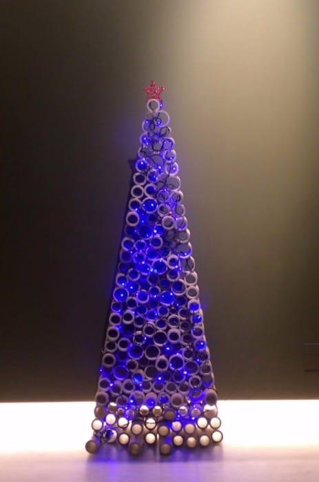 Christmas Cardboard Tree 5 • Recycled Cardboard