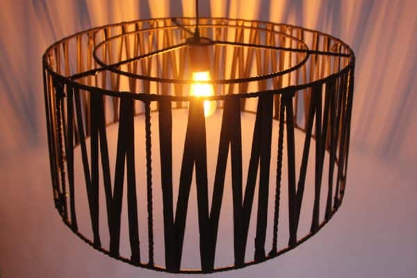 Lampshades of Recycled Rubber 3 • Lamps & Lights
