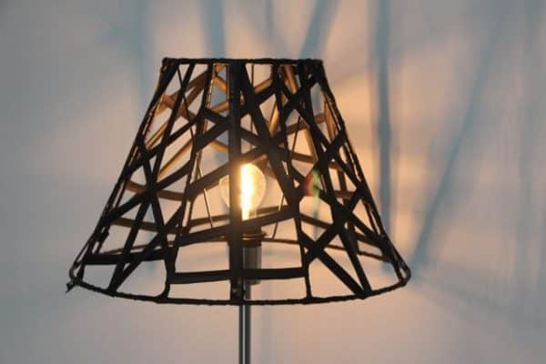 Lampshades of Recycled Rubber 7 • Lamps & Lights