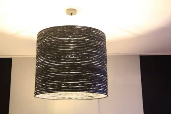 Lampshades of Recycled Rubber 5 • Lamps & Lights