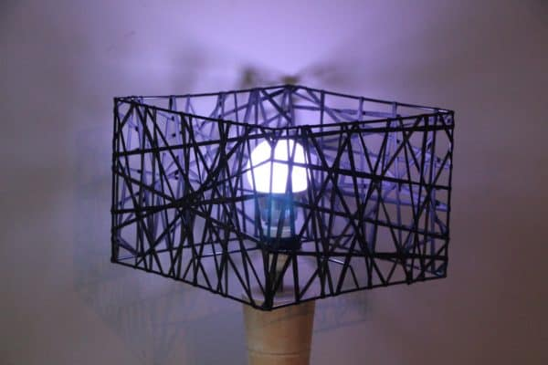 Lampshades of Recycled Rubber 1 • Lamps & Lights