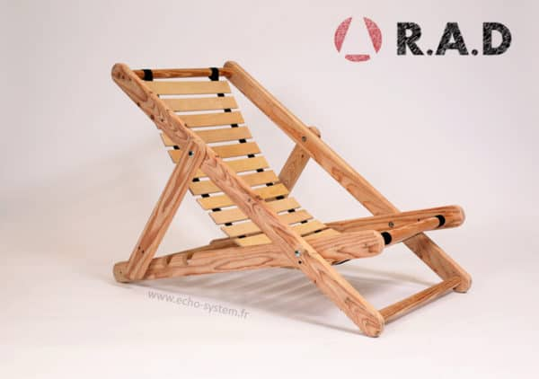 Pallet Wood & Bed Slats Upcycled into Comfortable Chair 1 • Recycled Pallets