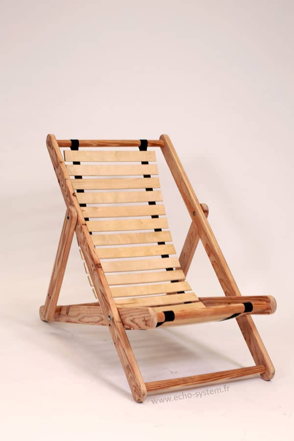 Pallet Wood & Bed Slats Upcycled into Comfortable Chair 3 • Recycled Pallets