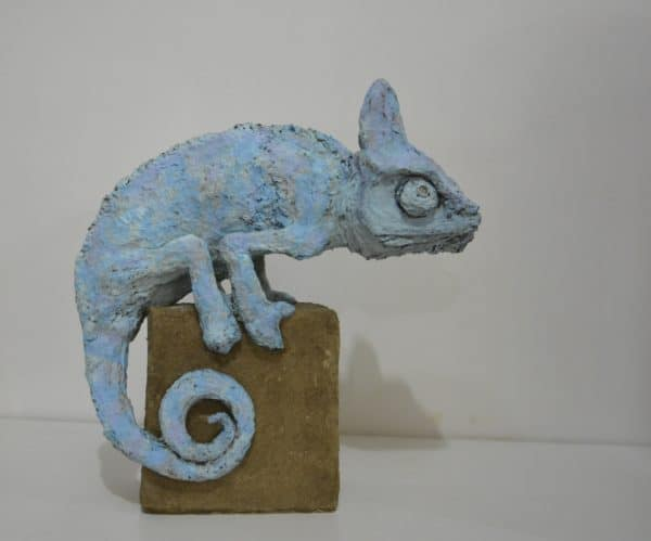 Solid Recycled Cardboard Animal Sculptures 1 • Recycled Cardboard