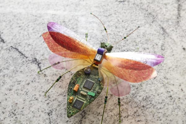 Computer Bugs 1 • Recycled Electronic Waste