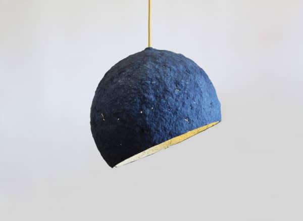 Pluto Paper Mache Lamp Lamps & Lights
