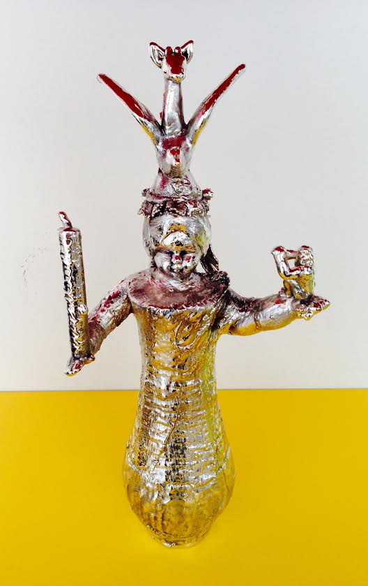 The Little Devil 3 • Recycled Art